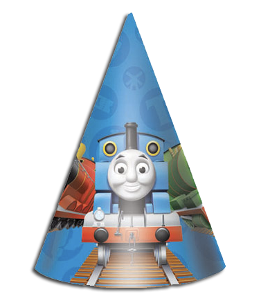 Thomas party hats