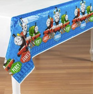 Thomas and Friends table cloth