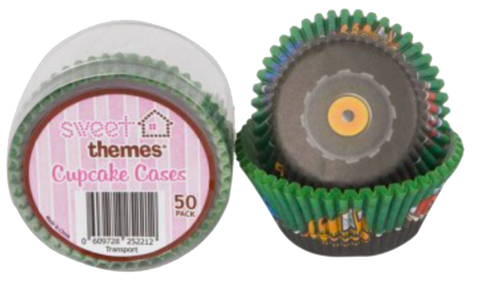 Under Construction Cupcake Cases pk50