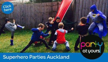 Superhero Boot Camp parties