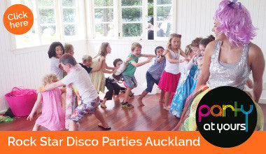 Rock Star Disco parties Auckland