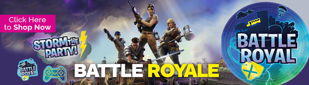 Fortnite Battle Royale Party Supplies & Decorations NZ