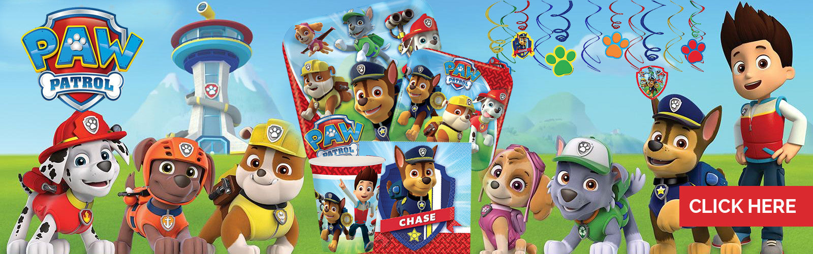 Paw Patrol Party Supplies NZ