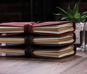 Robrasim Personalized Genuine Leather Notebook