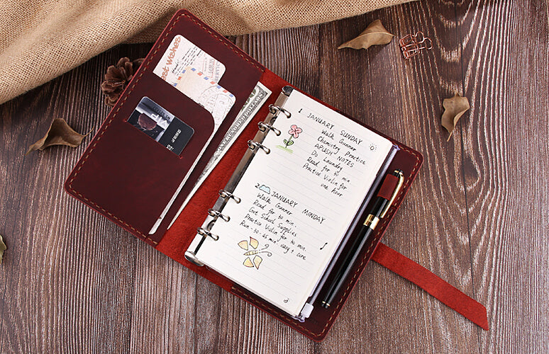 Ring Binder Leather Journal