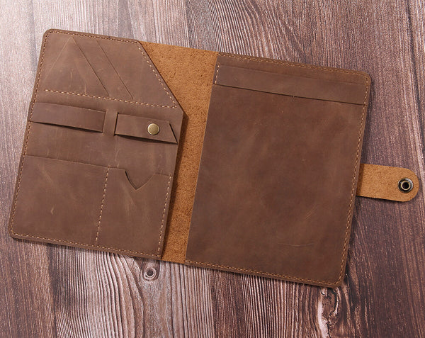 leather documents holder