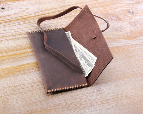 Women's Long Leather Wallet - Aimee Creative LLC