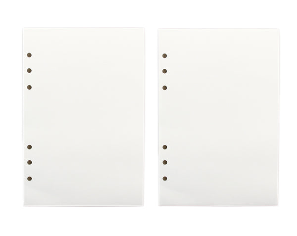 6 Holes Refill Paper for A5 Ring Binder Notebook