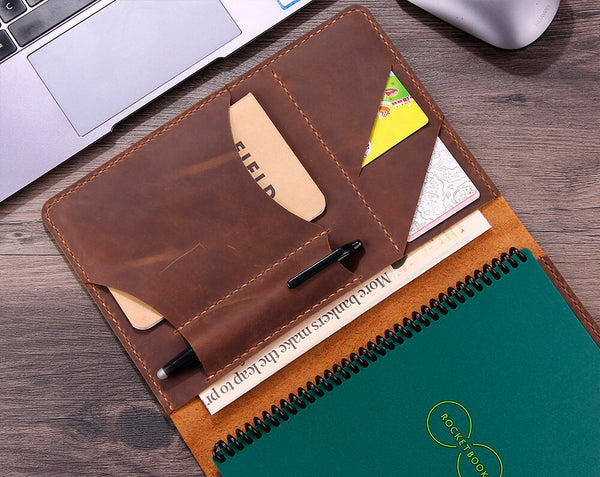leather cover for rocketbook