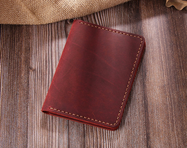 Personalized Leather Travel Passport Wallet