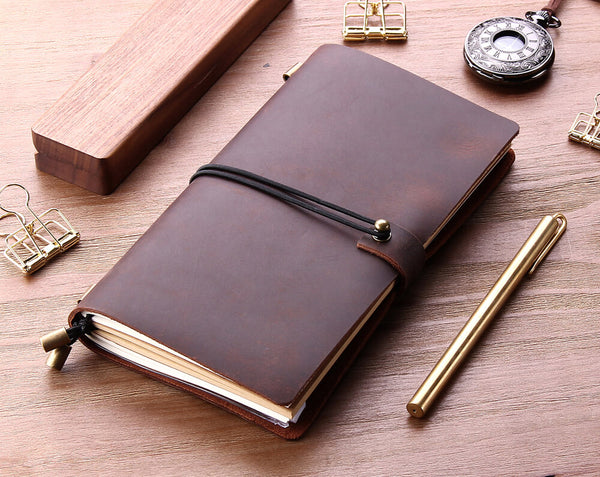 Custom Leather Traveler's Notebook