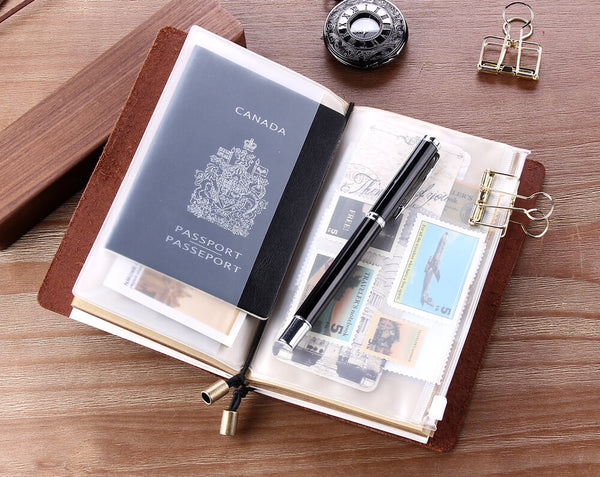 Engraved Leather Journal