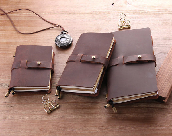 Handmade Leather Traveler's Notebook