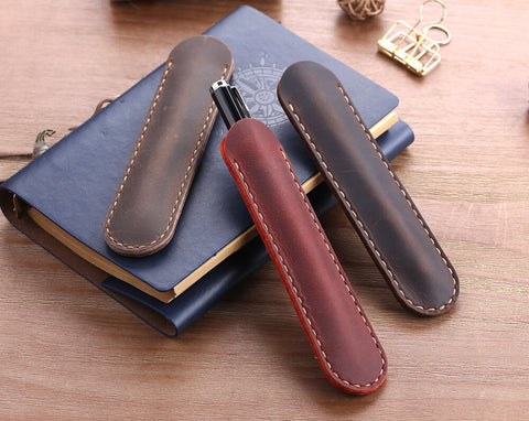 Leather Pencil Bags