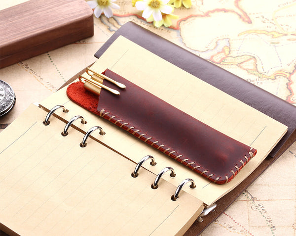 handmade fountain pencil case