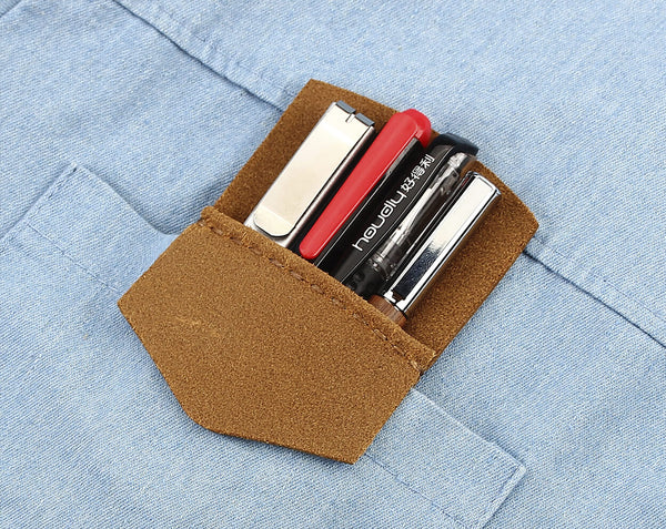 Leather Pocket Protector