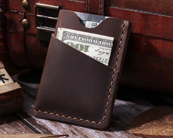 leather card organizer