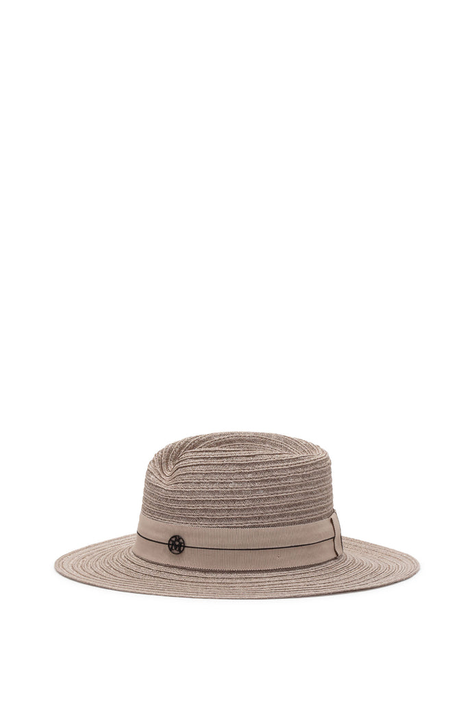 Maison Michel - Virginie True Hemp Light Beige Hat