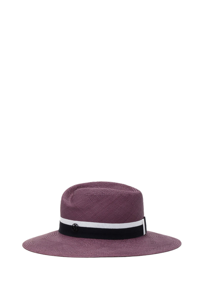 Maison Michel - Virginie Straw Antic Pink Hat