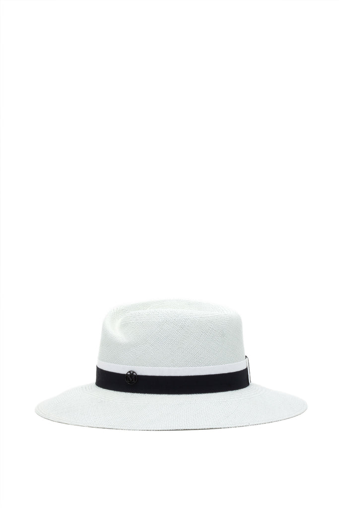 Maison Michel - Virginie Straw White Chalk Hat