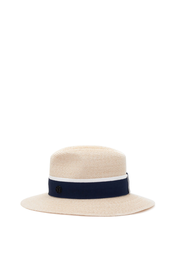 Maison Michel - Henrietta True Hemp Navy Hat