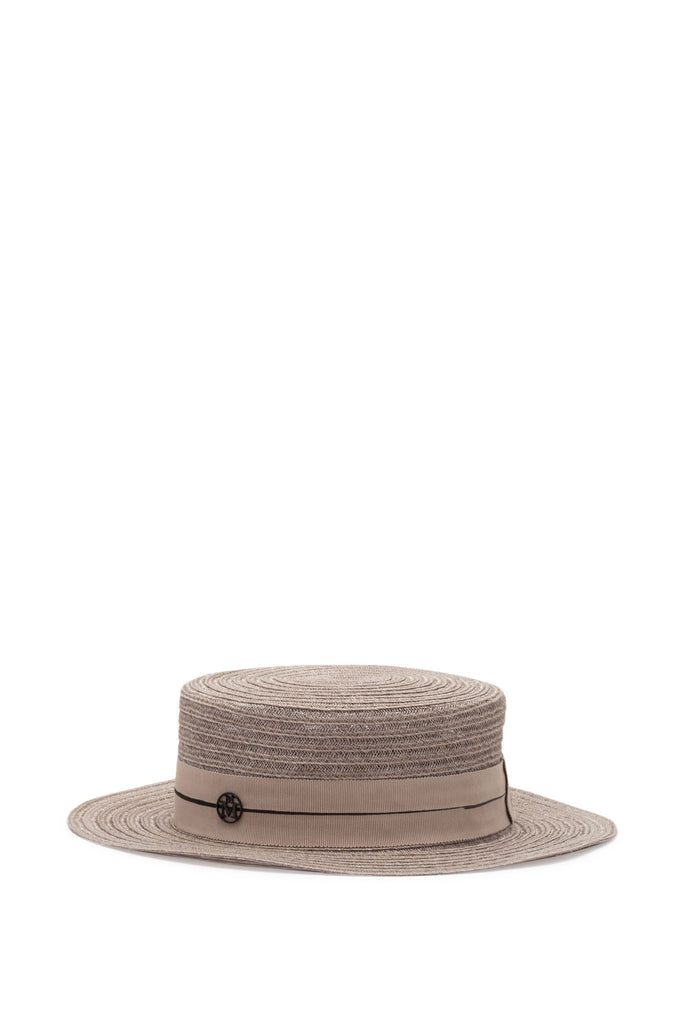 Maison Michel - Kiki True Hemp Light Beige Hat