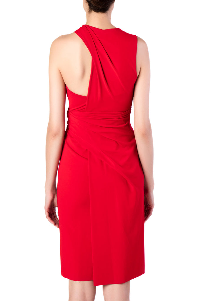 Alexander Wang - Draped Vermillion Dress