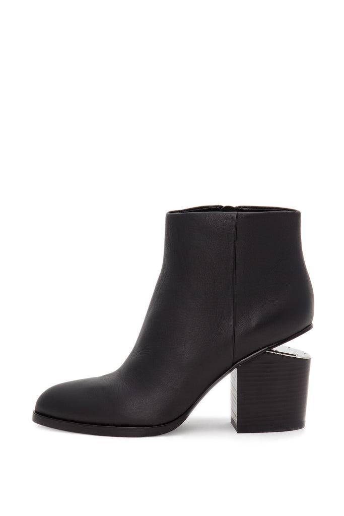 Alexander Wang - Gabi Tumbled Leather Black Boots