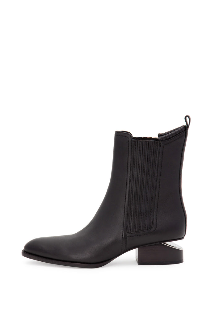 Alexander Wang - Anouck Tumbled Leather Black Boots