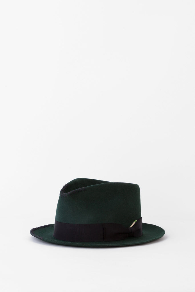 Nick Fouquet - Green Hat with Black Hatband