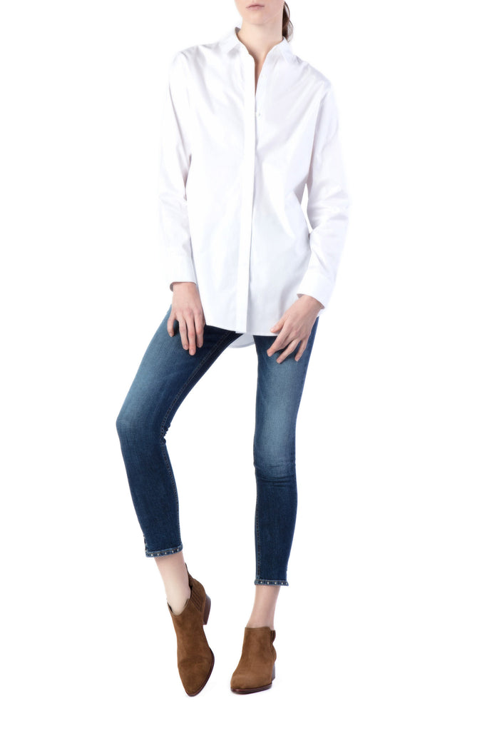 T by Alexander Wang - Long Sleeve White Shirt