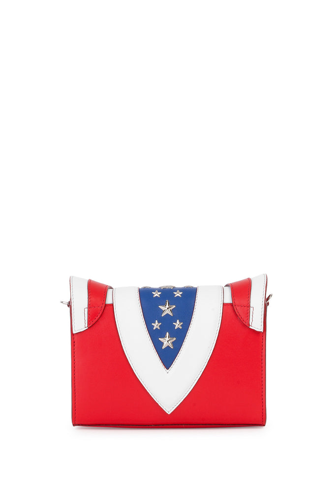 Elena Ghisellini - Felina Stars & Stripes Mignon Shoulder Bag