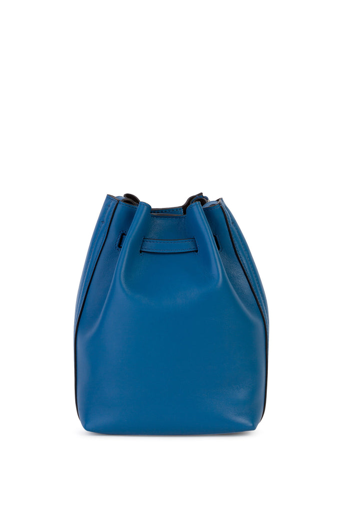 Elena Ghisellini - Leo Mini Blue Crossbody Bucket