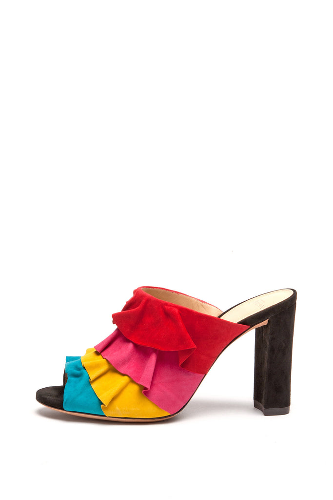 Alexandre Birman - Capri Red Yellow and Blue Sandals