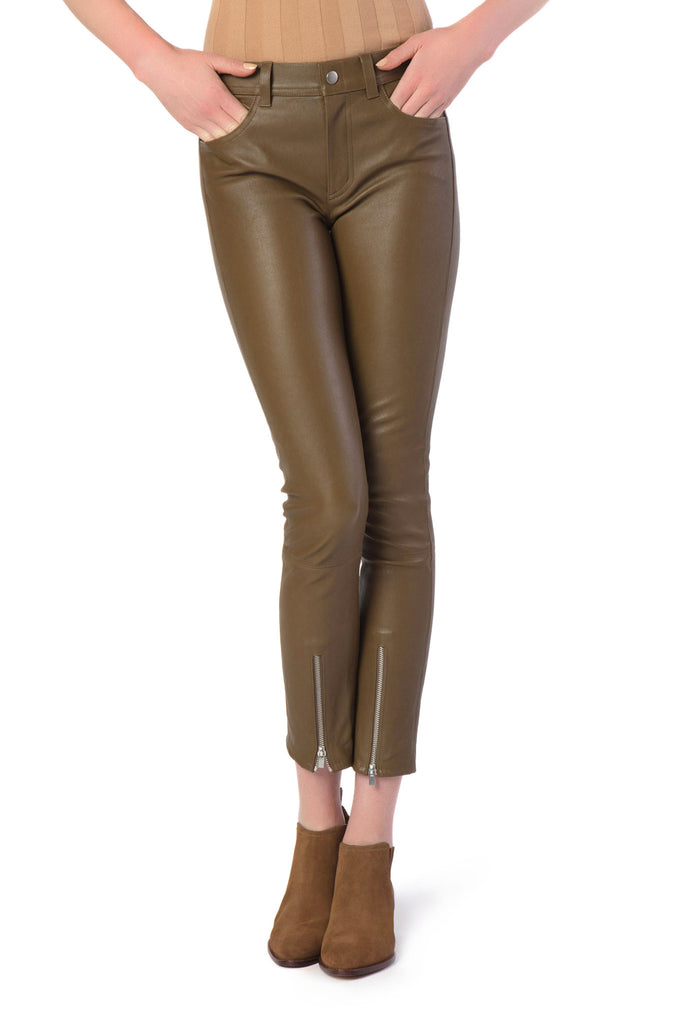 Helmut Lang - Copper Leather Pants