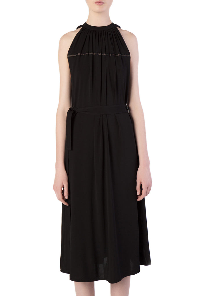 Helmut Lang - Black Sleeveless Maxi Dress