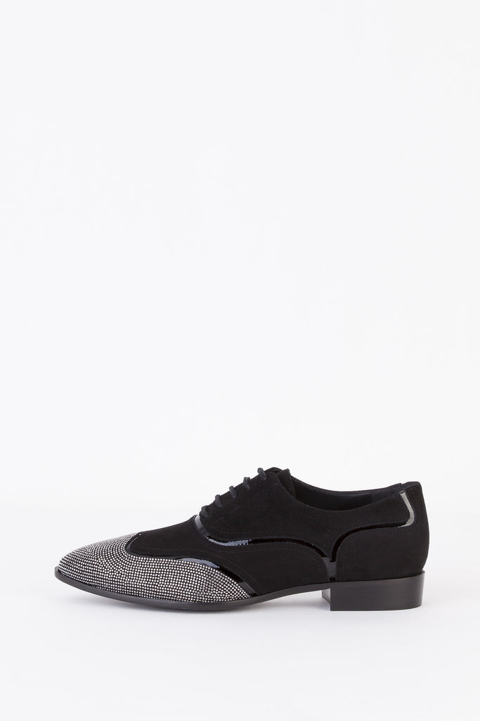 Giuseppe Zanotti - Studded Lace-Up Shoes