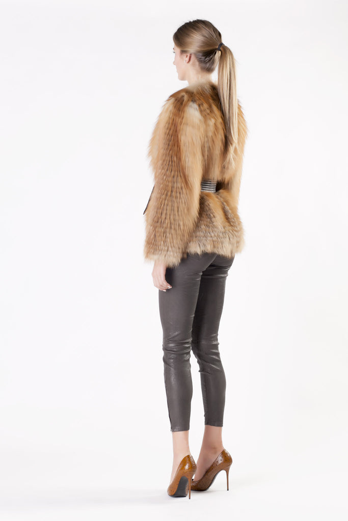 Balmain - Fox Fur Jacket