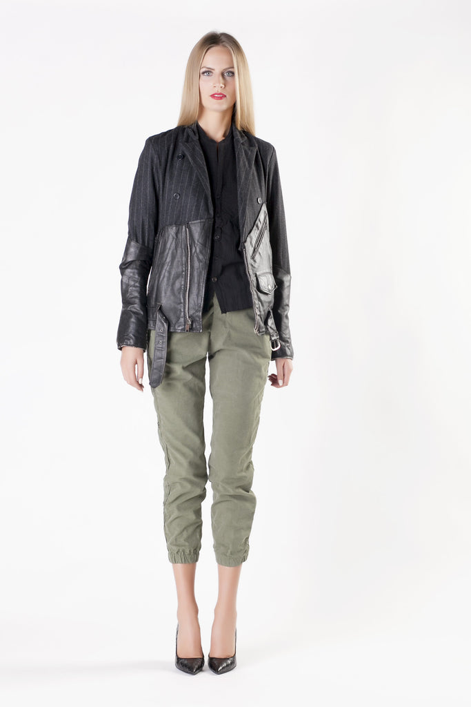 Greg Lauren - Blazer Leather Jacket