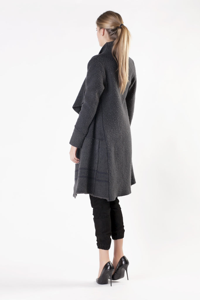 Greg Lauren - Grey Oversize Coat
