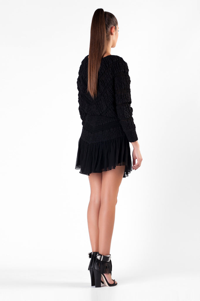 Jay Ahr - Silk Black Sweater