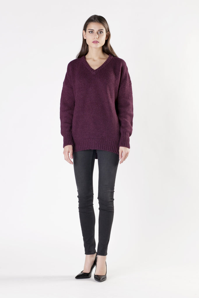 Leetha - Purple Knitwear
