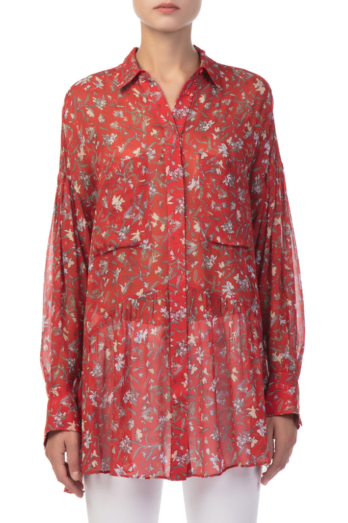 IRO - Red Floral Shirt