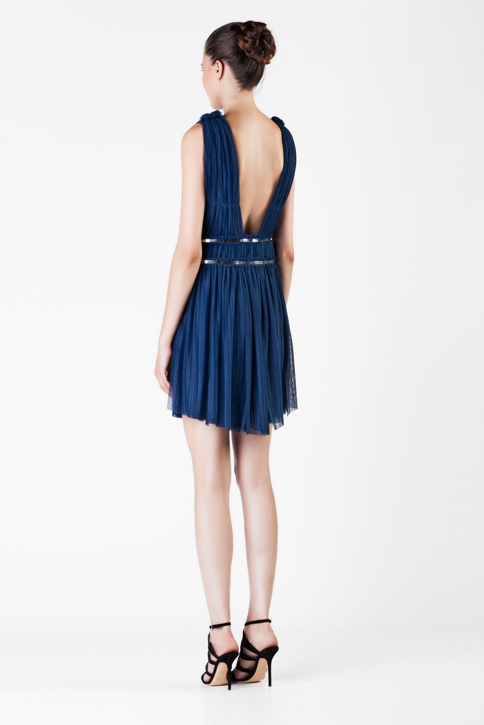 Jay Ahr - Astral Mini Blue Dress