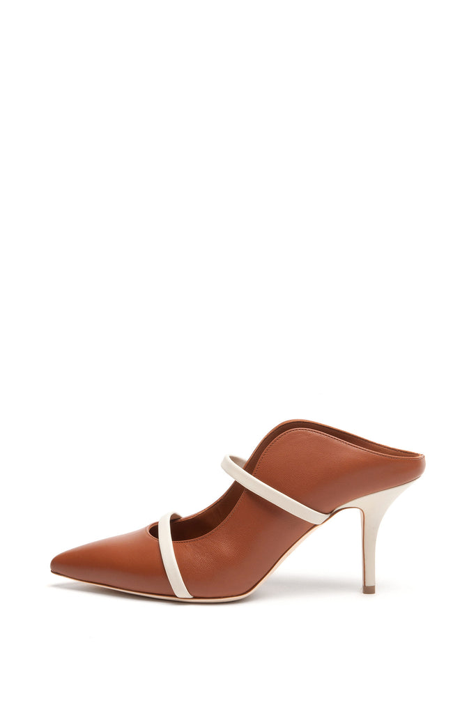 Malone Souliers - Maureen Brown and White Pumps