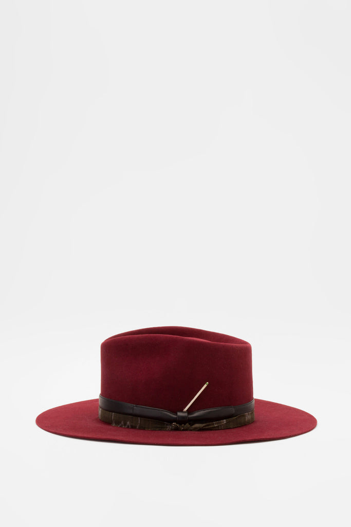 Nick Fouquet - Virgin Burgundy Hat