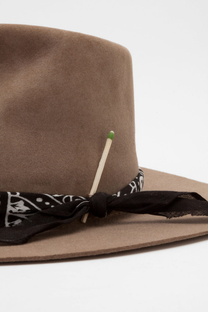 Nick Fouquet - Diamond Custom Brown Hat