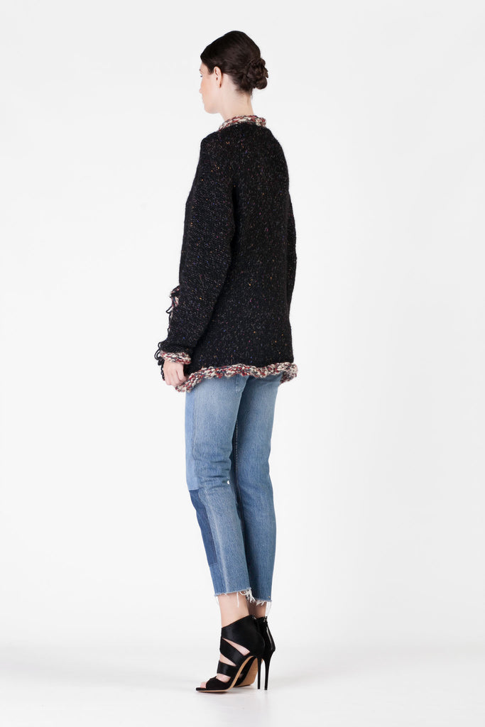 One on One - Instinct Black Cardigan
