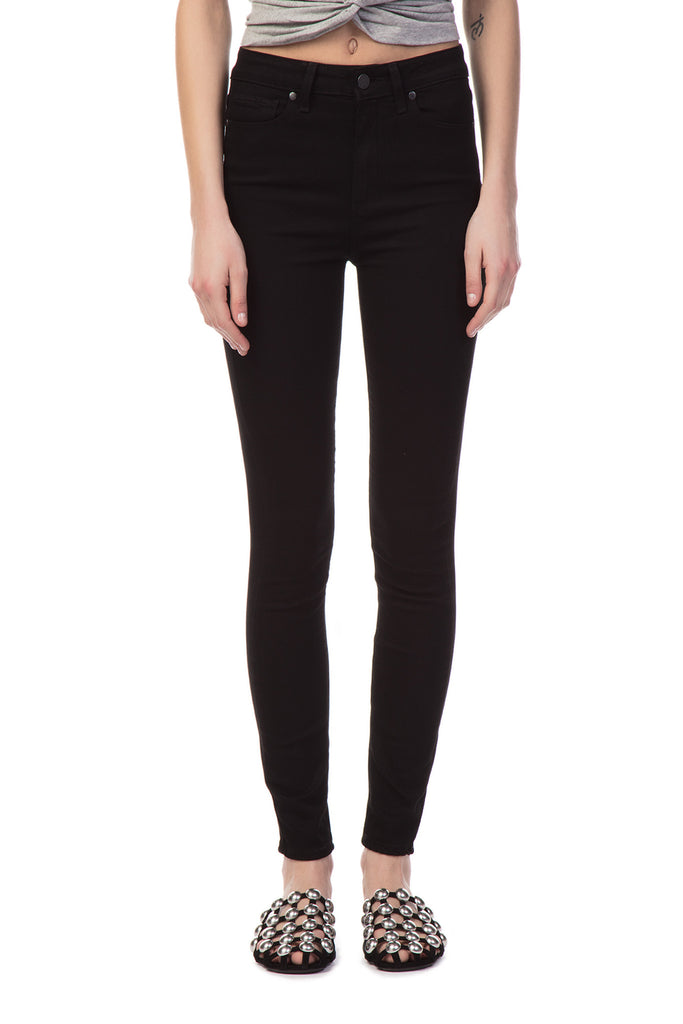 PAIGE - Margot Ultra Skinny Transcend Shadow Black Jeans