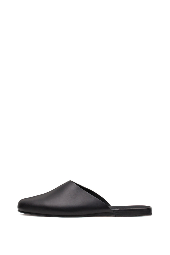 Ancient Greek Sandals - Pasoumi Black Mules